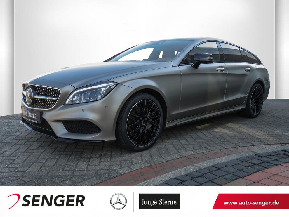 Mercedes-Benz CLS 350 d SB 4M AMG-Line Night Airmatic Glas-SD