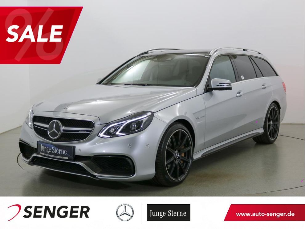 Mercedes-Benz E 63 T AMG S Panorama Distronic B&O Drivers-Pack