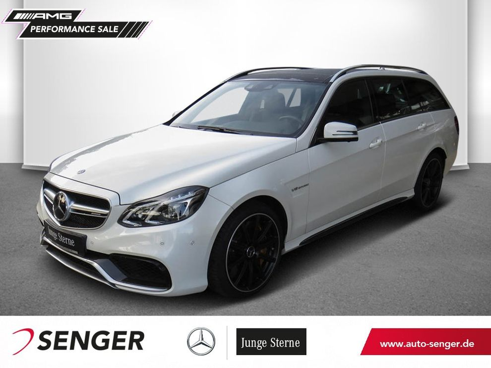 Mercedes-Benz E 63 T AMG S 4M Panorama Carbon-Paket Drivers-P.