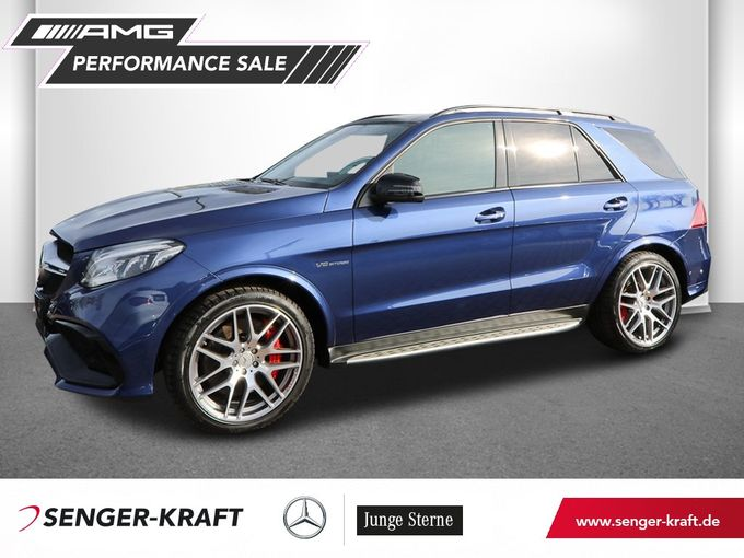 Mercedes-Benz GLE 63 S AMG+DISTRONIC+COMAND+STANDH.+AIRMATIC
